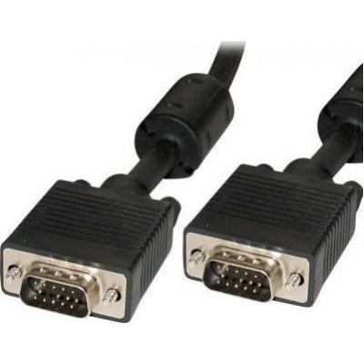 Καλώδιο VGA 15pin High-end M-M, μήκος 15m